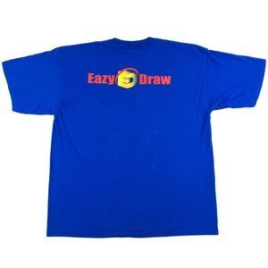 Vintage Eazy Draw Software 2-Sided Graphic T-Shirt